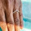 white gold rings