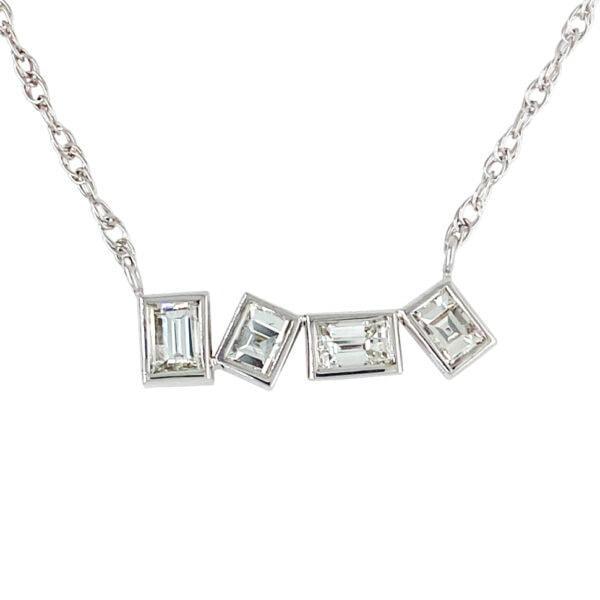 diamonds pendant necklace design