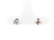 baby diamond studs