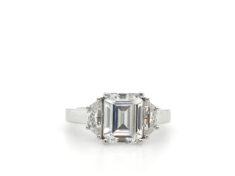 forever one moissanite ring