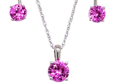 Pendant and Earring Set