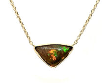 ethiopian opal necklace