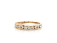 yellow gold ring mounting